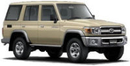 Toyota Tanzania - Land Cruiser LC70 - 5 Door