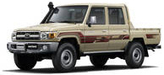 Toyota Tanzania - Land Cruiser LC70 Double Cabin Pickup